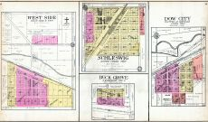West Side, Schleswig, Buck Grove, Dow City, Crawford County 1908